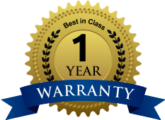 One Year Unlimited Mileage Warranty on all Units.